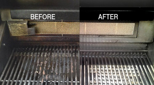 Before and after BBQ Grill Cleaning - 12