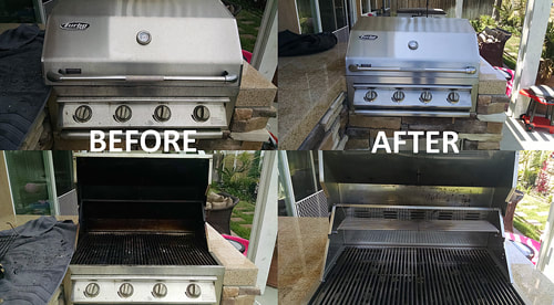 Before and after BBQ Grill Cleaning -2