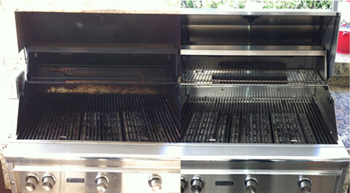 Before and after BBQ Grill Cleaning - 4
